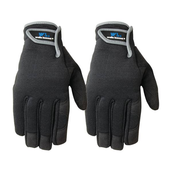 Men's 2-Pack Synthetic Leather Glove