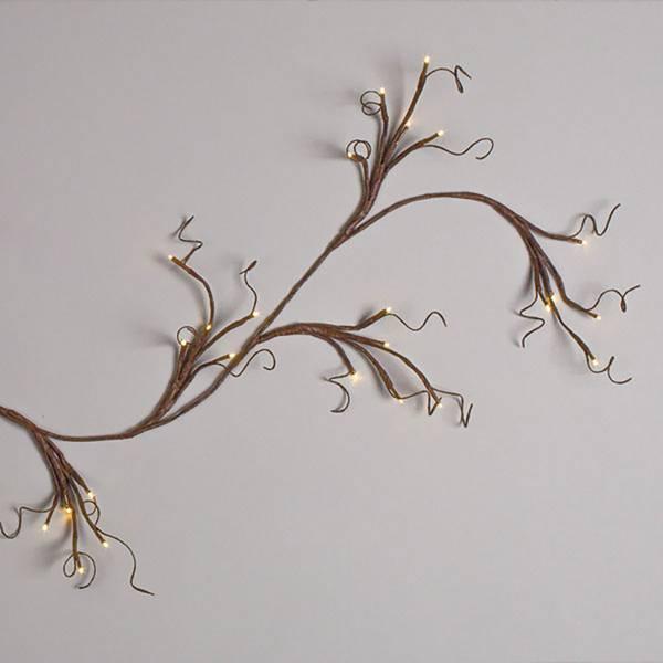 6' LED Lighted Garland
