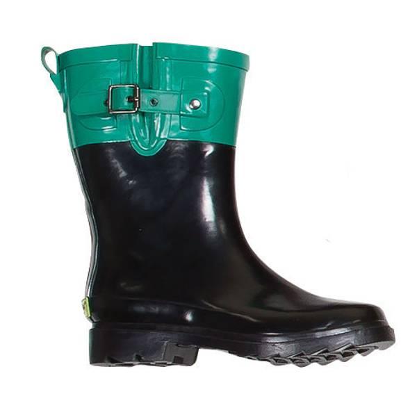 Western Chief Women's Aqua Two Tone Rain Boots at Blain's