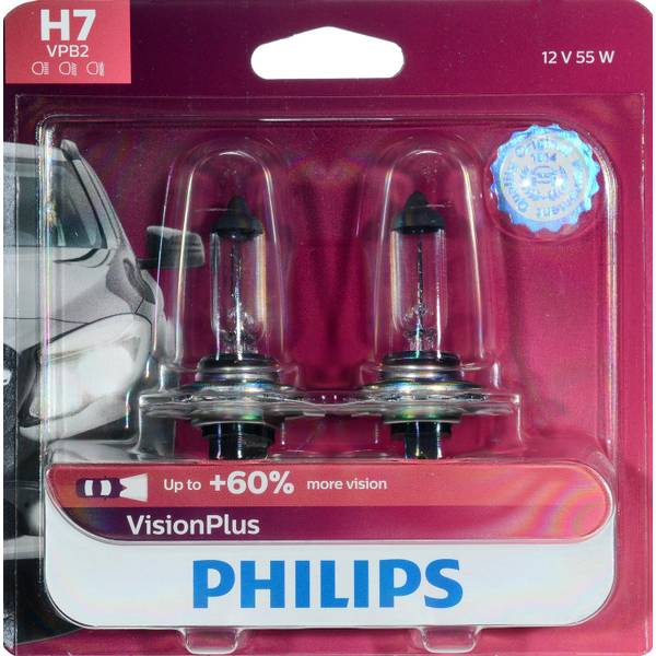 H7 VisionPlus Headlight (Twin Pack)