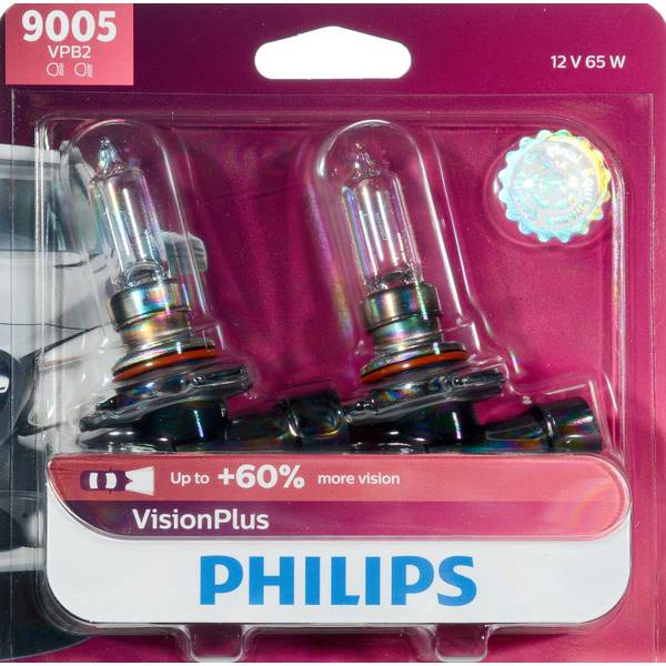 9005 VisionPlus Headlight (Twin Pack)