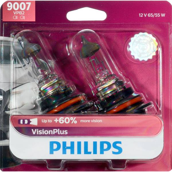 9007 VisionPlus Headlight (Twin Pack)