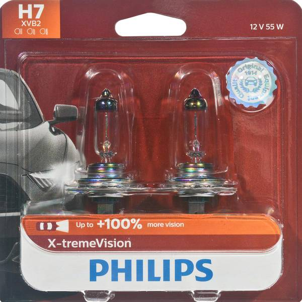 H7 X-tremeVision Headlight (Twin Pack)