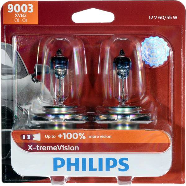 9003 X-tremeVision Headlight (Twin Pack)