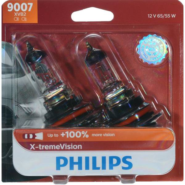 9007 X-tremeVision Headlight (Twin Pack)