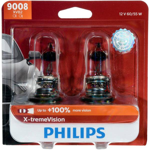 9008 X-tremeVision Headlight (Twin Pack)
