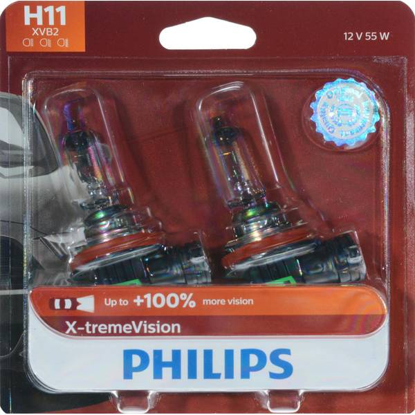 H11 X-tremeVision Headlight (Twin Pack)