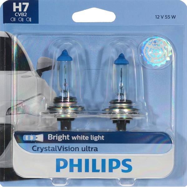 H7 CrystalVision Ultra Headlight (Twin Pack)