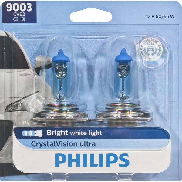 9003 CrystalVision Ultra Headlight (Twin Pack)
