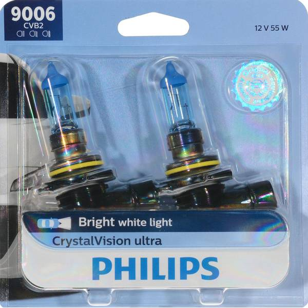 9006 CrystalVision Ultra Headlight (Twin Pack)