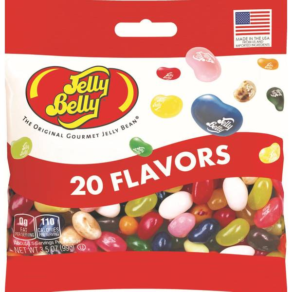 20 Assorted Jelly Bean Flavors