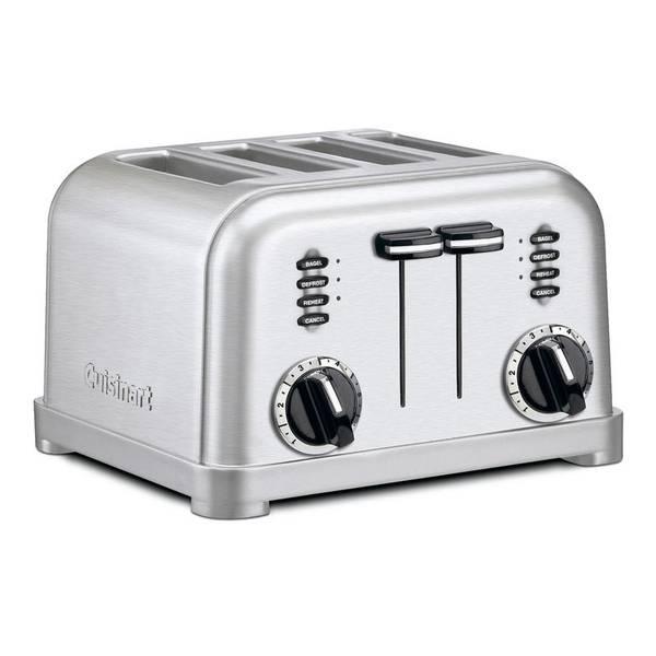 narrow 4-slice toaster