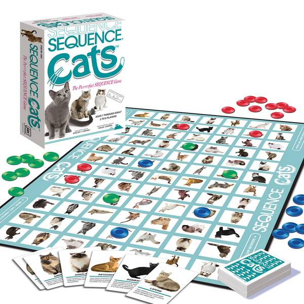 Sequence Cats Game