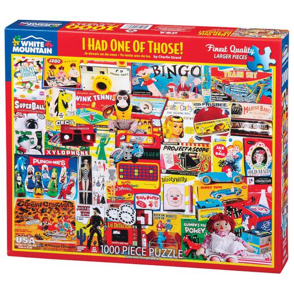 Story Time 1000-Piece Jigsaw Puzzle Assortment
