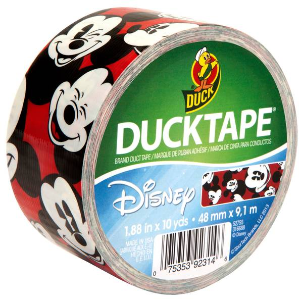 "1.88"" x 10 yd Mickey Mouse Duct Tape"