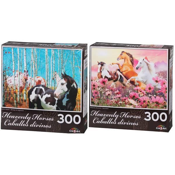 300-Piece Heavenly Horses Puzzle Assortment