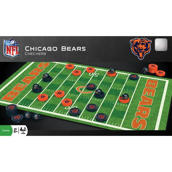 NFL Chicago Bears Checkers