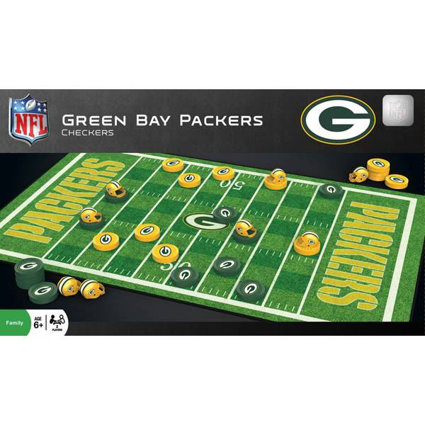 NFL Green Bay Packers Team Checkers