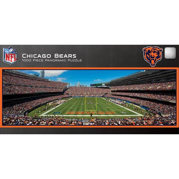 NFL Chicago Bears 1000-Piece Panoramic Stadium Puzzle