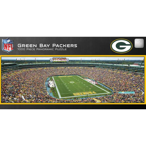 NFL Green Bay Packers Stadium 1000-Piece Panoramic Jigsaw Puzzle
