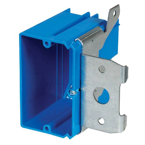 Non-Metallic Wall Box with Adjustable Bracket