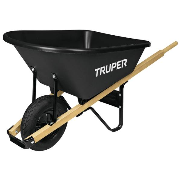6 Cubic Feet Poly Wheelbarrow