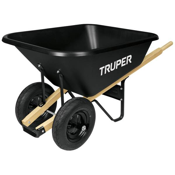 8 Cubic Feet Poly Wheelbarrow