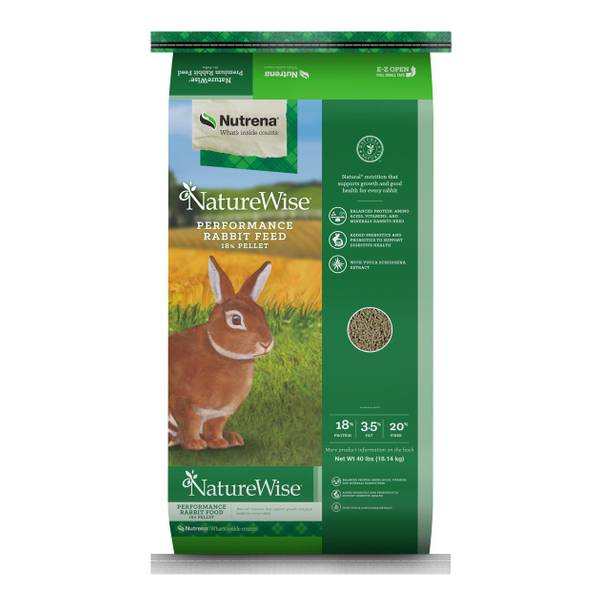 NatureWise 18% Performance Rabbit Feed