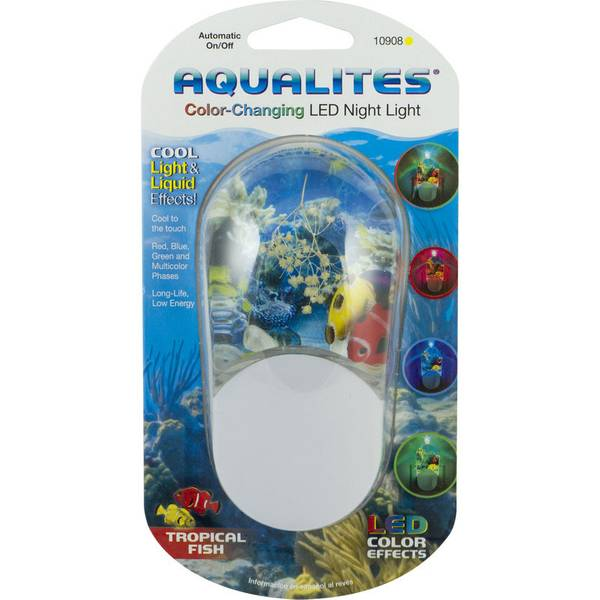 Ge Aqualites Color Changing Led Night