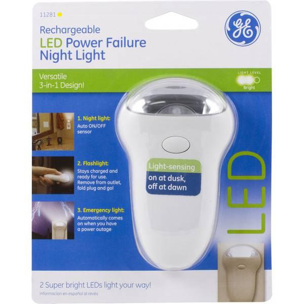 Ge Power Failure Led Night Light