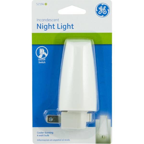 Ge Incandescent Night Light