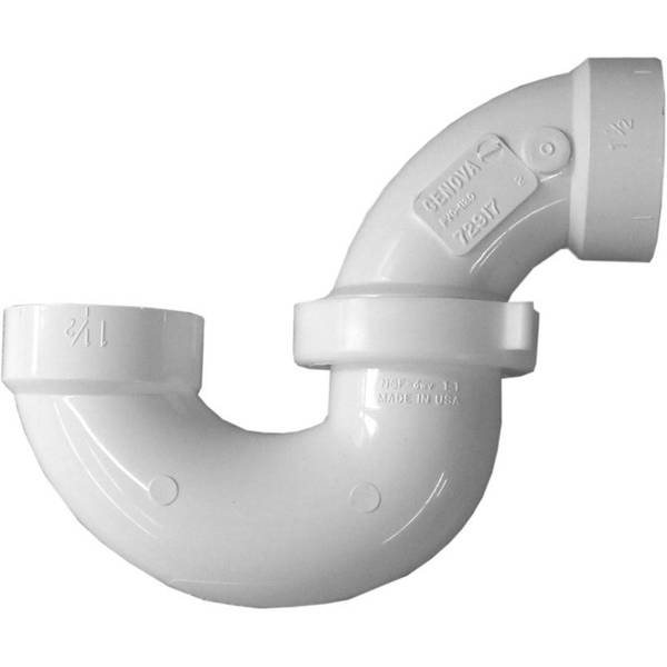 Genova adustable pvc p trap with union
