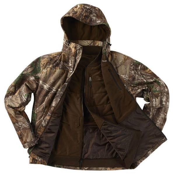 Men's 3 - in - 1 Realtree Xtra Camo M12 Heated Jacket Kit