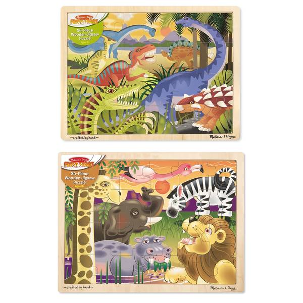 24-Piece To The Rescue! Jigsaw Puzzle Assortment