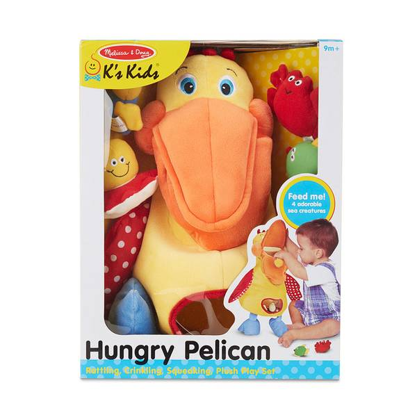 K's Kids Hungry Pelican Learning Toy