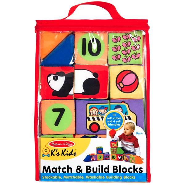 K's Kids Match & Build Blocks