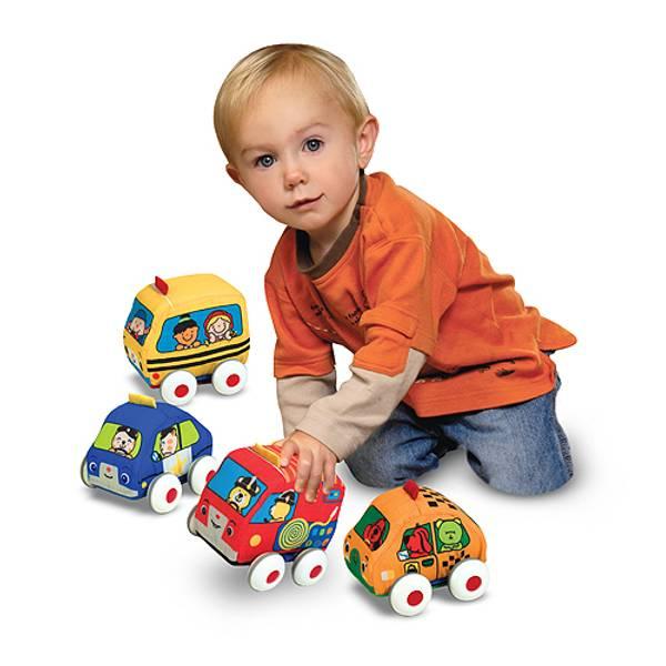 K's Kids Pull - Back Vehicle Set