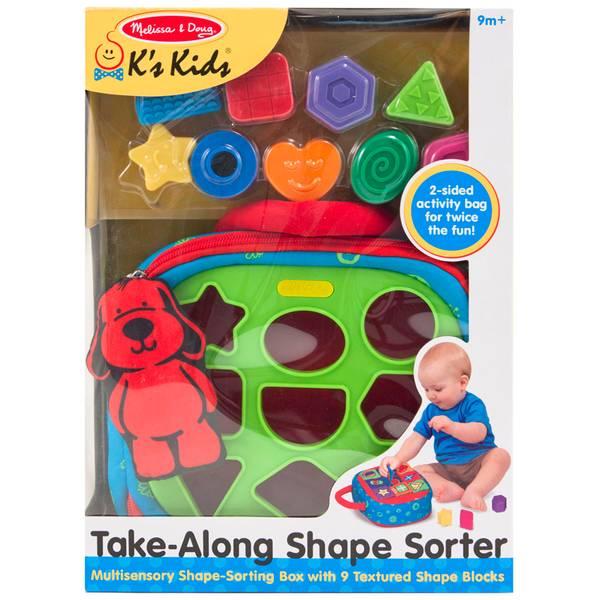 K's Kids Take-Along Shape Sorter Toy