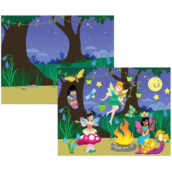 Fairies Reusable Sticker Pad