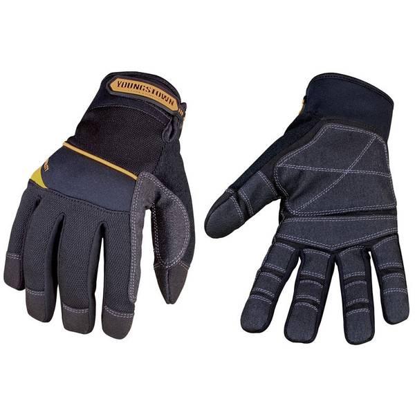 Men's Black General Utility Plus Glove