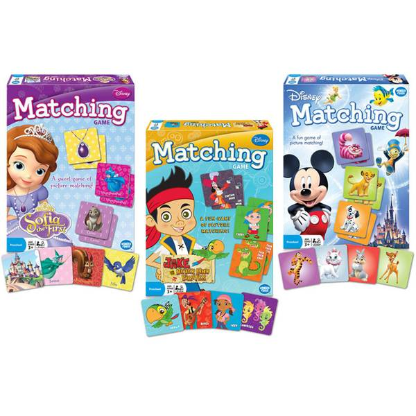 Licensed Character Matching Game Assortment