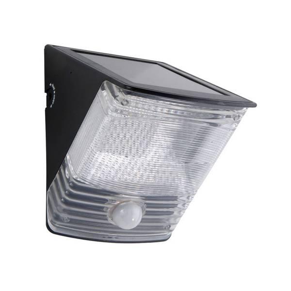 LED Solar Motion Wedge Light
