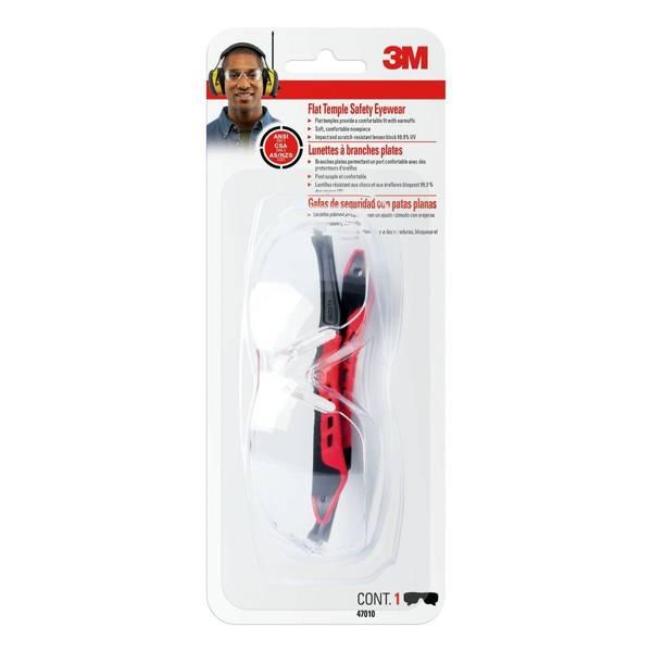Flat Temple Safety Eyewear