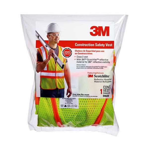 Two - Tone Hi - Viz Construction Safety Vest