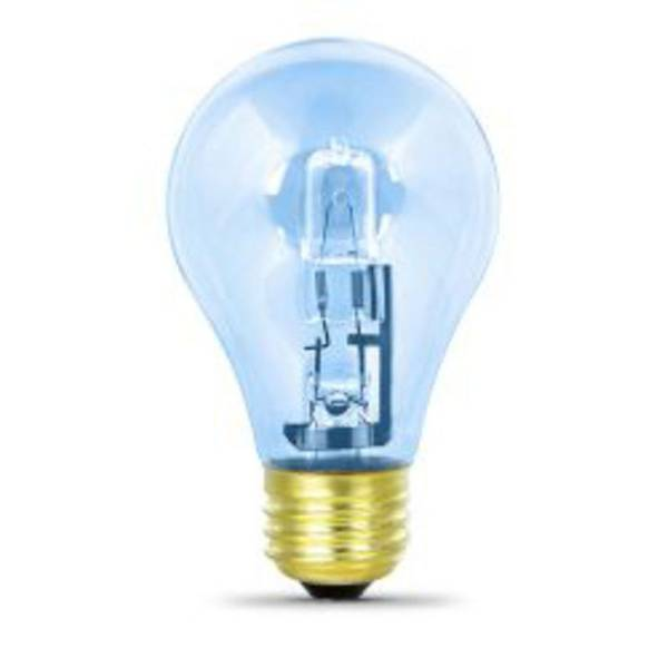 2 Pack 43 Watt/60Watt Halogen Clear Enhance Bulb