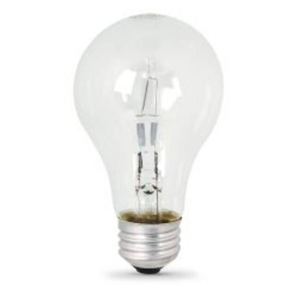 Feit Electric Halogen 72 Watt A19 Clear 2 Pack 100 Watt Light Bulbs