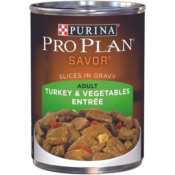 Savor Turkey & Vegetables Entree Adult Wet Dog Food