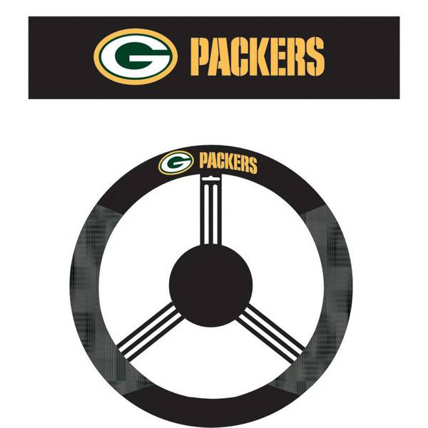 Green Bay Packers Steering Wheel Cover