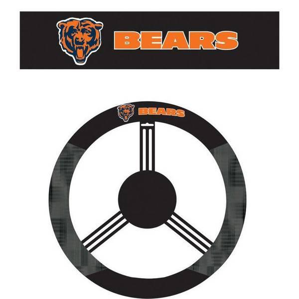 Chicago Bears Steering Wheel Cover