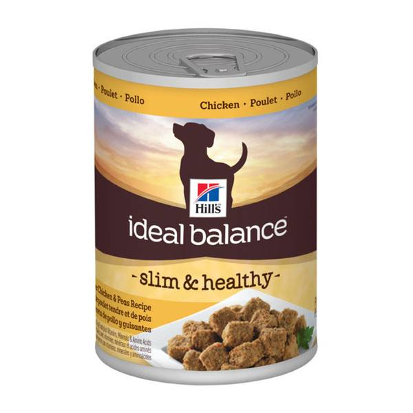 Ideal Balance Dog Food >> Ideal Balance Slim & Healthy Chicken & Peas Adult Canned Dog Food